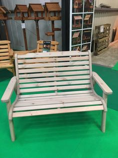 Anchor Fast Padstow 2 Seater Bench - Simply Wood