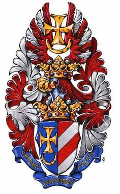 Family Crest Symbols, Knights Templar, Crests, World Cultures, Coat Of Arms, France, Medieval, History, Artwork