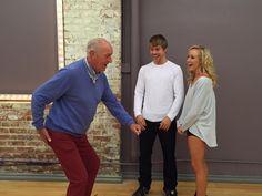Will Len Goodman dance with Nastia & Derek on Monday's #DWTS?!