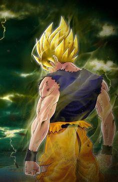 Super Saiyan Goku - Visit now for 3D Dragon Ball Z shirts now on sale!