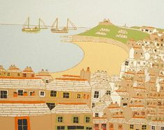 St Ives from Godrevy Terrace | Bryan Pearce