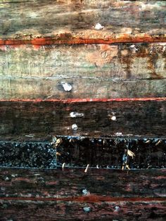 Natural Painting - Old ship in Kolobrzeg