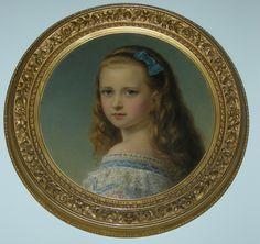 """Princess Elizabeth of Hesse (1864-1918)"", attr. Joseph Hartmann, 1871; Royal Collection Trust 400771"