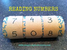 Reading Numbers - Laughing Kids Learn An ingeniously simple idea to help children who are struggling with place value - numbers before, after, use for halving and doubling, place holder zeros......