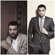 Crazy how Michael Ealy looks like James Earl Jones in his younger days - but I guess fine is fine!!