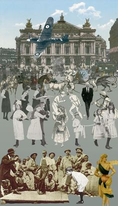 Paris - Dancing (Silkscreen Signed Limited Editions of 100) by Peter Blake