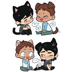 puppy keith and kitty lance? or kitty lance and puppy keith?? i couldn't choosethis listing is for both stickers! they are approximately 5cm/2'' wide, printed on glossy paper and hand-cut.Processing time is up to 1 week. Australian domestic orders should arrive within 1 week from shipping; all international orders may take up to 4 weeks to arrive.Please bear in mind that delays may occur during the holiday season, due to high traffic and public holidays!