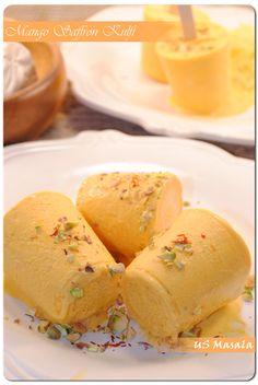 mango saffron kulfi