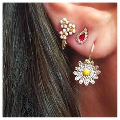 Ear Party ❤️available on http://www.twistonline.com/designers-alison-lou/