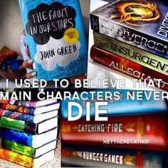 I used to think this. That was before I read divergent, and hunger games, and The maze runner I Love Books, Good Books, Books To Read, My Books, Book Tv, Book Nerd, The Book, Fandoms Unite, Percy Jackson