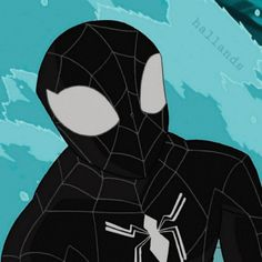 Spiderman Black Suit, Spiderman Art, Amazing Spiderman, Dc Icons, Man Icon, Spider Man 2, Cartoon Profile Pictures, Anime Poses Reference, Cartoon Icons