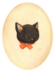 cutest kitty illustrations! by http://theblackapple.typepad.com
