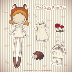 Paper doll for kid