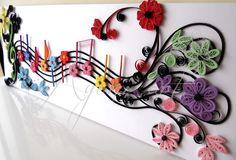 Ayani art: Music quilling