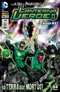 LIGA HQ - COMIC SHOP Lanterna Verde (52) #18 - Lanterna Verde - DC Comics PARA OS NOSSOS HERÓIS NÃO HÁ DISTÂNCIA!!!