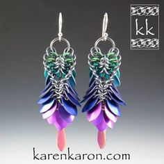No photo description available. Wire Wrapped Jewelry, Metal Jewelry, Karneval Diy, Jewelry Crafts, Handmade Jewelry, Beaded Jewelry Patterns, Wire Earrings, Chainmaille, Ring Sizes