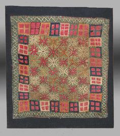 Yomut Embroidery, Central Asia