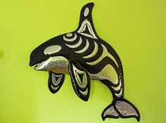 CUSTOM for NANCY  Aluminum Orca Killer Whale by natureartstudio, $119.00 WANT