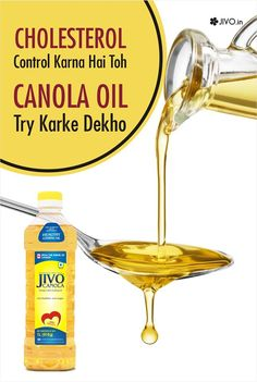 #JivoCanolaOil  Cholesterol Control Karna Hai Toh Canola Oil Try Karke dekho!  Canola Oil is a good source of monounsaturated fats, which help reduce bad cholesterol levels and lower the risk of heart disease.  Share & Spread!