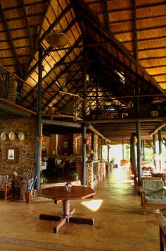 Stanley Safari Lodge, Zambia - Main House