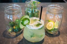Savor the flavors of Florida at The Ritz-Carlton Bal Harbour, Miami with the resort's signature Jalapeño Margarita, which combines flavors of pepper, cilantro and citrus.