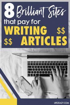 Make Cash Fast, Earn Money Fast, Ways To Earn Money, Earn Money Online, Online Jobs, Money Tips, Way To Make Money, Writing Sites, Writing Jobs