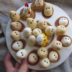 Natural Eggs Cupcake Toppers design inspiration on Fab.