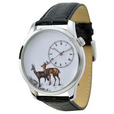 Elegant Animal Watch Deer by SandMwatch on Etsy, $42.90