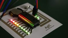 AgIC Print - Printing circuit boards with home printers