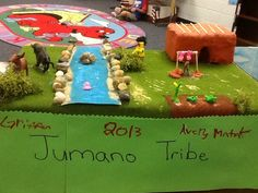 4th grade Indian tribe diorama. Indian Project, Social Studies Projects, 4th Grade Ela, Indian Village, Indian Tribes, Texas History, School Projects, Diorama, School Stuff