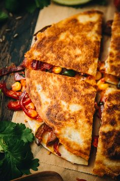 Tandoori Veggie Quesadillas – The Chutney Life These quesadillas are a great Indian Mexican fusion recipe you can try out for a weeknight dinner, lunch or even if you are entertaining guests! Veg Dinner Recipes, Appetizer Recipes, Snack Recipes, Cooking Recipes, Rice Recipes, Cooking Tips, Indian Appetizers, Indian Snacks, Mexican Food Recipes