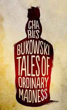 Charles Bukowski Book Series by Valentino Borghesi, via Behance
