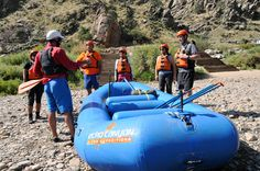 New to rafting? We'll teach you everything you need to know to tackle class II-IV rapids. Just bring your sense of adventure! #raftecho #coloradovacation