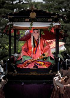 2016 葵祭 斎王代 KYOTO JAPAN