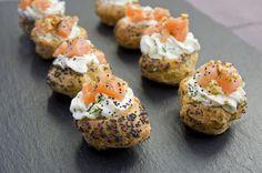 Choux mousse citron aneth et saumon mariné – Les recettes de cuisine et mets