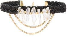 This pretty braided gold chain choker will bring out the boho in any outfit.