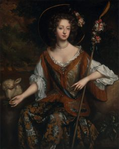 Elizabeth Jones, Countess of Kildare 1684 Willem Wissing