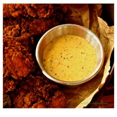 Mardi Gras Mustard Dipping Sauce (Sorta Like Popeyes but Better) - Wildflour's Cottage Kitchen