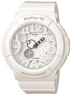 Casio Baby G White Dial Women's Watch – BGA131-7B G-Shock Top price  http://dedeuhren.com/casio-baby-g-white-dial-womens-watch-bga131-7b/