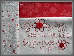 Grattitude is an Attitude by Jenny of Elefantz on Craftsy