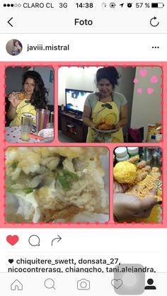 Bolitas de arroz, pollo, queso crema, cebollin envueltas en panko ❤️