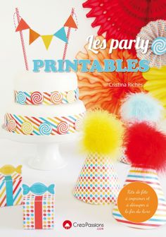 My Book | Les Party Printables with 30+ FREE printables!!
