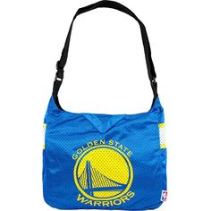 Littlearth Team Jersey Shoulder Bag - NBA Teams - Golden State... ($28) ❤ liked on Polyvore featuring bags, handbags, shoulder bags, grey, littlearth purse, golden purse, shoulder bag handbag, nba jerseys and golden handbags