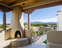 Welcome to Santa Fe Properties, your one-stop source for Santa Fe real estate! Browse MLS listings, find seller resources, and customize your online search. Outdoor Rooms, Outdoor Living, Southwestern Home, Southwest Style, Spanish Style Homes, Spanish Revival, Spanish Colonial, Santa Fe Home, Earthship Home