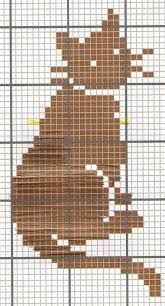 Brilliant Cross Stitch Embroidery Tips Ideas. Mesmerizing Cross Stitch Embroidery Tips Ideas. Cat Cross Stitches, Cross Stitch Charts, Cross Stitch Designs, Cross Stitching, Cross Stitch Patterns, Chat Crochet, Crochet Cross, Filet Crochet, Crochet Chart