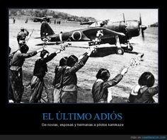 EL ÚLTIMO ADIÓS - De novias, esposas y hermanas a pilotos kamikaze