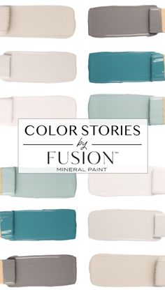 Spring is a time of renewal and April's Color Story paint palette from Fusion Mineral paint helps you to welcome the new season, featuring timeless and soothing colors from the Penney & Co. Painted Bedroom Furniture, Bedroom Decor, Furniture Paint Colors, Mineral Paint, Mineral Fusion Paint, Bedroom Paint Colors, Painting Bedrooms, Soothing Colors, Colorful Furniture