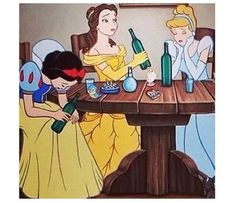 Even princesses need a stiff one!