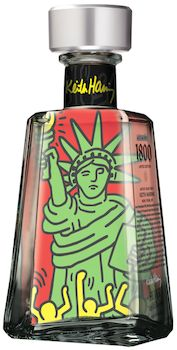 1800 Tequila has selected the late Keith Haring to be the newest artist for their Essential Artists series.