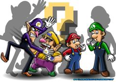 by on DeviantArt Mario And Luigi, Mario Bros, King Koopa, Super Mario Art, Clean Shaven, Super Mario Brothers, Budgies, Haha Funny, Bowser